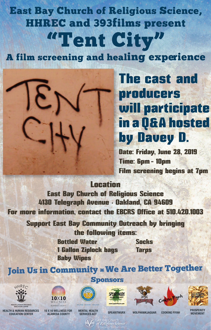 Film Screening: Tent City @ East Bay Church of Religious Science